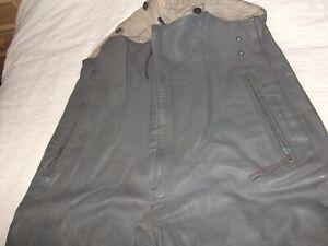 WW2 Kreigsmarine ( U-Boat ) Leather Breeches