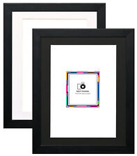 Black Picture Frames With Mount Photo Frames Wood Effect Various Picture Frames