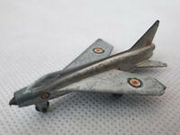 Vintage Dinky Toys Meccano P.1 B Lightning Aeroplane Made in England 1950s