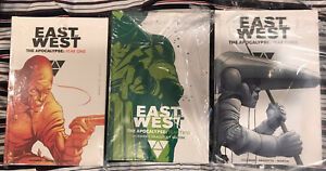 East of West The Apocalypse Year One, Two And Three Hardcover Hickman NEW SEALED