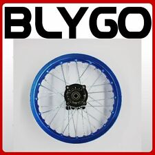 "BLUE 90/100 - 14"" Inch Alloy Rear Back Wheel Rim PIT PRO Trail BigFoot Dirt Bike"