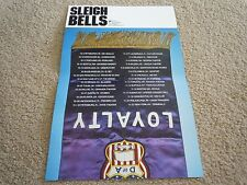 Sleigh Bells - Poster for Loyalty Cd