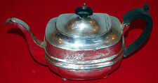 GEORGE III TEA POT C 1789  ENGLISH STERLING BY DUNCAN-URQHART 17.115 TROY OUNCES
