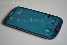 Samsung Galaxy s3 i9300 Marco Marco intermedio + button azul, funda F. display Frame