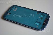 Samsung Galaxy S3 I9300 Marco Marco central + Botón Azul Cover F. DISPLAY Frame