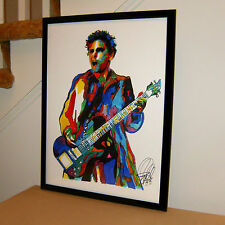 Matt Bellamy, Muse, Guitar, Vocals, Art Rock, Hard Rock, 18x24 POSTER w/COA
