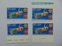 "DDR Komplettsatz (**) ""Gemeinsamer Weltraumflug UdSSR-DDR (I)"" 1978 Mi 2355"