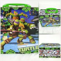 NICKELODEON TMNT TEENAGE MUTANT NINJA TURTLES METAL LUNCH BOX GREAT CONDITION