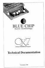 WERSI OX7 technische Dokumentation für OX7  Sinus-Zugriegelexpander
