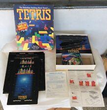 Vintage 1989 Tetris Board Game Milton Bradley By Nintendo *SEE PICS*