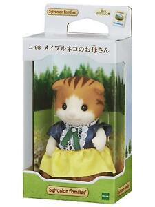 Sylvanian Families MAPLE CAT MOTHER Epoch Japan NI-98 Calico Critters