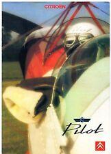 Citroen BX 16 Pilot Limited Edition 1989 UK Market Sales Brochure