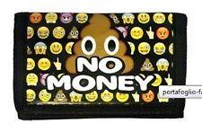 portafoglio faccine faceboock cacca 3 ante sport Emoji Smiley smile Emoticon