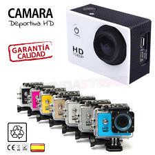 CAMARA HD DEPORTES ACUATICA cámara deportiva sumergible acuatica 1080P accion