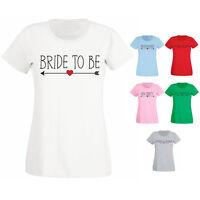 Womens Hen Party Do Night Wedding Bride Bridal Choose Role Slogan T-shirt