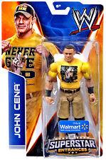 WWE JOHN CENA SUPERSTAR ENTRANCES TSHIRT FIGURE WALMART EXCLUSIVE NEVER GIVE UP