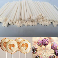 100pc Lollipop Sticks Chocolate Cake Lolly Pop Sucker Making Mold Paper-made