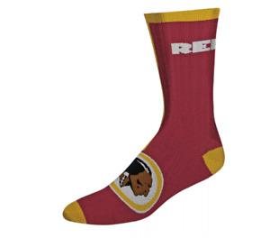 Washington Redskins Football Women's Maroon & Gold Casual Socks - Medium