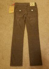 NWT Boys True Religion Corduroy Brown Jack Pants Size 10