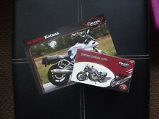 Classic motorbikes - Suzuki Katana 1:24 scale Atlas editions.