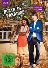 4 DVDs * DEATH IN PARADISE - STAFFEL / SEASON 4 # NEU OVP &