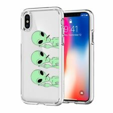 Iphone X Case Jicuike [Color Printed] Cute Cool Aliens Pattern Painted Silicone