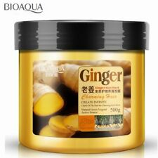 Steam-Free Nutrition Ginger Hair Mask Baked Ointment For Frizz Dry Damaged Hair
