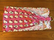 "New Handmade USA ""Baby Doll"" Ring Sling ""Hello Kitty Material"""