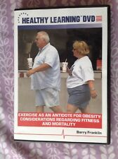 Exercise As An Antidote For Obesity / Barry Franklin / Dvd 2007 / Ace