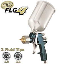 New DeVILBISS FinishLine 4 Primer HVLP SPRAY GUN-1.8 2.2 Tips Auto Paint Priming