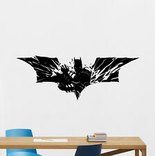 Batman Wall Decal Superhero Comics Vinyl Sticker Boy Nursery Decor Poster 198zzz