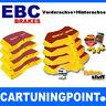 EBC PASTILLAS FRENO delant. + eje trasero Yellowstuff para VW GOLF 6 Cabrio 517