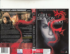 The Girl With The Dragon Tattoo-2009-Michael Nyquist-Sweden Movie- DVD