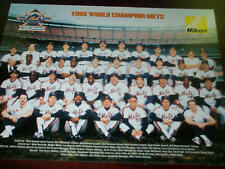 NY Mets 1986-2006 20th Anniversary World Series Champ Poster Print Shea Giveway