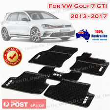 Rubber Car Floor Mats Tailored Made VW Volkswagen Golf MK7 GTI 2013-2017 New AU