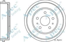 2x OE Quality Replacement Rear Axle Apec Brake Drums 5 Stud 228.3mm