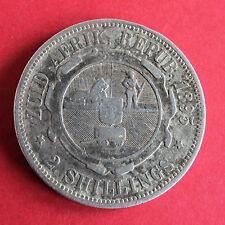 SOUTH AFRICA 1895 ZAR - KRUGAR SILVER FLORIN ( 2 SHILLINGS ) -