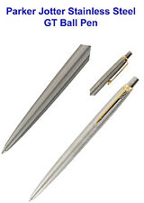 Parker Jotter Stainless Steel GT Retractable Ball Point Pen Free Shipping