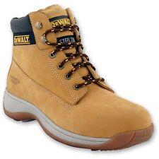 "DEWALT Apprentice Leather Flexi Hiker Safety Work Boot Style 2017 Honey 9"""