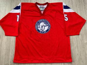 IIHF Norway Women Game Worn Ice Hockey Jersey Shirt TACKLA #15 HARMENS