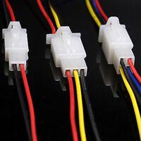 5pcs 2.8mm Terminal Female Male Wire Sealed Plug Car Automotive Connectors