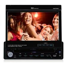 XO Vision X407NAV 1-DIN 7-inch Touch Screen DVD Receiver with Navigation