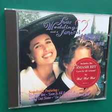 Hong Kong FOUR WEDDINGS AND FUNERAL Soundtrack CD Richard R. Bennett Hugh Grant