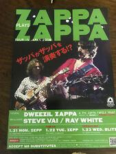 Dweezil ZAPPA plays FRANK Japan 2002 flyer live gig CONCERT mini-poster MINT