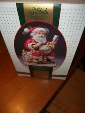 Waco Melody in Motion Santa Claus Porcelain Music Santa Claus is Coming To Town