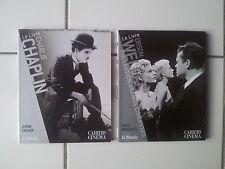 collection Grands Cinéastes CHARLIE CHAPLIN + ORSON WELLES  tbe 2007