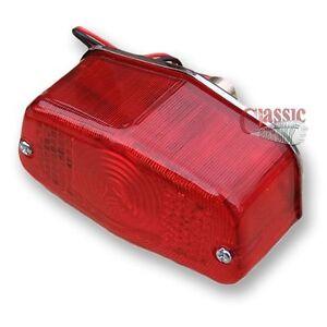 Replica Lucas 564 rear lamp light BSA Norton Triumph 1955- 70 53454, LU53454 AMC