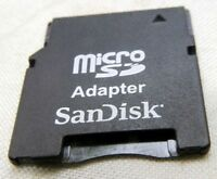 Sandisk Micro SD   memory card Adapter  - Free Shipping US