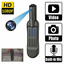 HD 1080P Mini Pocket Pen Camera Hidden Portable Body Video Recorder DVR Spy Cam
