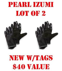 Lot of 2 -Pearl Izumi Mountain Bike/Cycling Jr MTB Gloves Junior Collection L/XL
